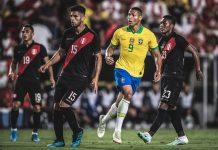Peru vence o Brasil em amistoso. Foto: Pedro Martins/MoWA Press