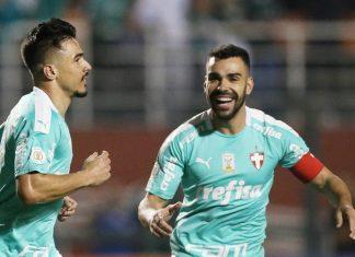 Palmeiras vence o CSA por 6 a 2. Foto: Cesar Greco/Agência Palmeiras