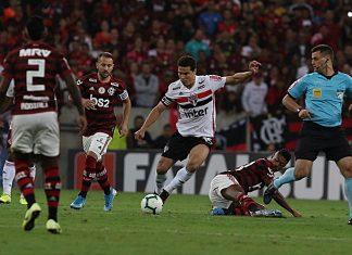 Flamengo e São Paulo ficaram no empate. Foto: Rubens Chiri/São Paulo