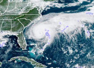 Furacão Humberto. Foto: NOAA