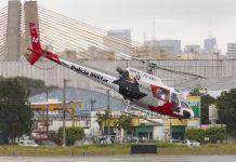 Aeronave partiu da Base de Araçatuba. Foto: Divulgação