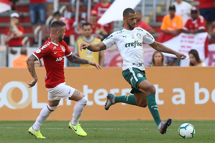 Internacional x Palmeiras. Foto: Cesar Greco/Agência Palmeiras