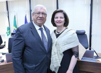 Alcides Martins e Raquel Dodge. Foto: MPF/Divulgação
