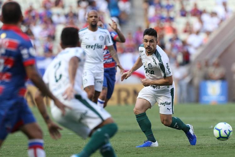 Palmeiras vence o Fortaleza. Foto: Cesar Greco/Agência Palmeiras