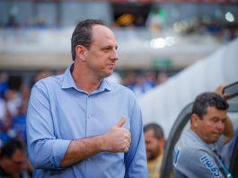 Técnico Rogério Ceni. Foto: Vinnicius Silva/Cruzeiro