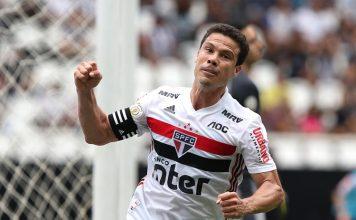 Tricolor vence o Botafogo na abertura do returno. Foto: Rubens Chiri/São Paulo