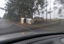 Acidente aconteceu em Amandina. Foto: Jornal da Nova/Reprodução