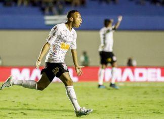 Corinthians empata em 2 a 2 com o Goiás. Foto: Rodrigo Gazzanel/Agência Corinthians