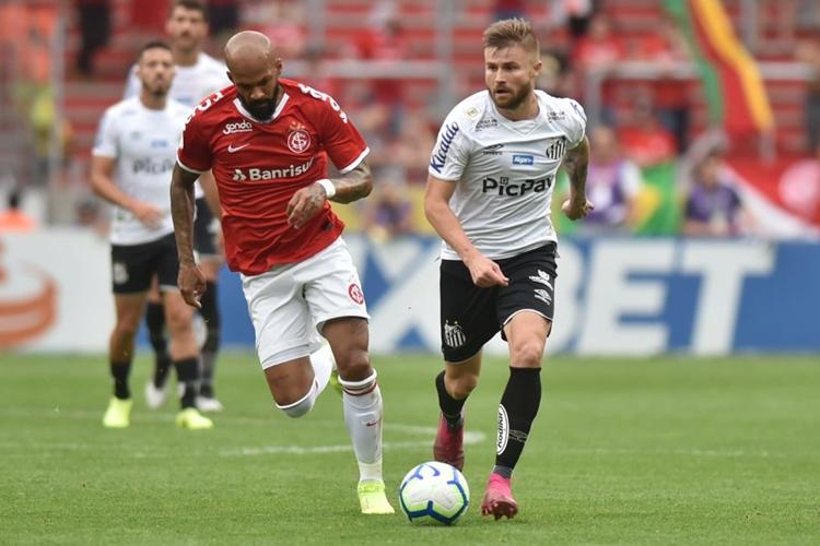 Santos e Internacional ficaram no empate. Foto: Ivan Storti/Santos