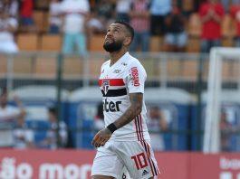 Com gols de Pablo e Igor Gomes, São Paulo derrotou o Fortaleza por 2 a 1. Foto: Rubens Chiri/São Paulo
