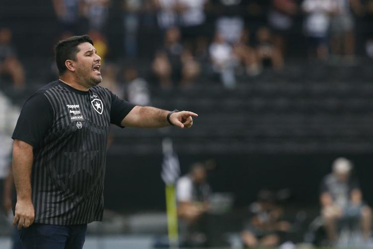 Eduardo Barroca. Foto: Vitor Silva/Botafogo