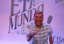 Jorge Fernando no lançamento da novela 'Êta Mundo Bom', de 2016. Foto: Paulo Belote/TV Globo