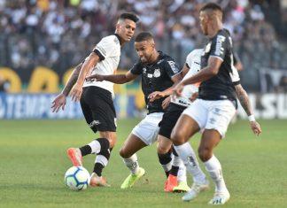 Comandados de Sampaoli derrotaram o Vasco, por 1 a 0. Foto: Ivan Storti/Santos