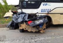 Acidente deixa mortos em Campos Altos. Foto: Reprodução