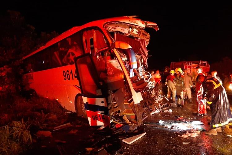 Acidente deixou seis mortos. Foto: Rômulo Azevedo/Arquivo Pessoal/Reprodução