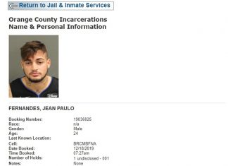 Ficha criminal de Jean nos Estados Unidos. Foto: Reprodução