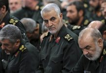 Qassem Soleimani, chefe da Guarda Revolucionária Iraniana. Foto: Office of the Iranian Supreme Leader