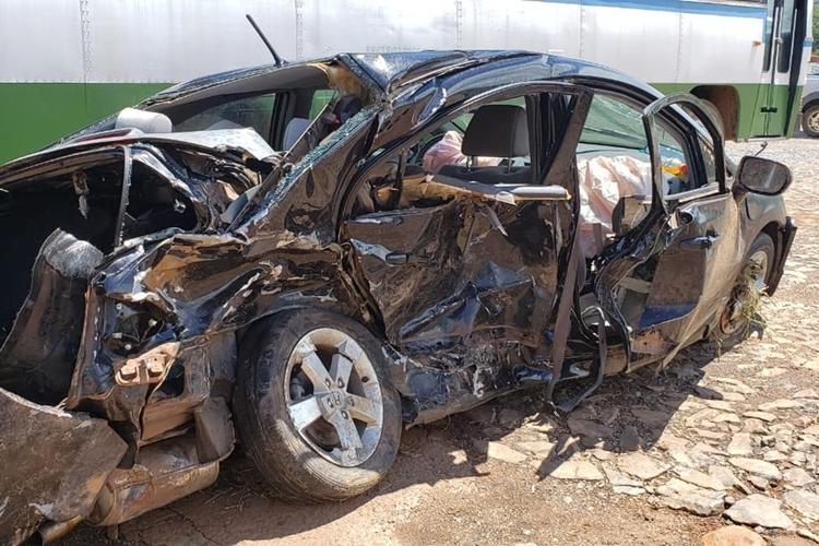 Acidente na MG-050 em Piumhi resulta na morte de 5 pessoas. Foto: Edgar Rodrigues/Onda Oeste FM/Reprodução