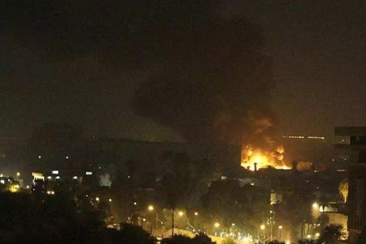 Mais 3 foguetes atingem área de embaixadas em Bagdá. Foto: Reprodução