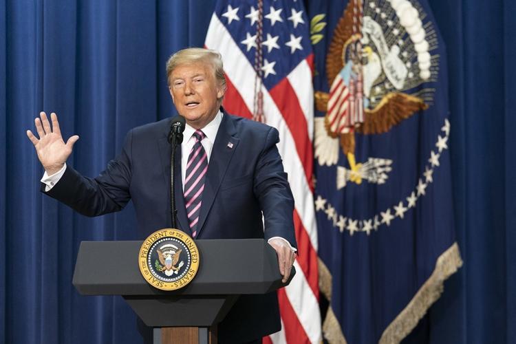 Donald Trump. Foto: Tia Dufour/Official White House