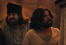 Cena do programa 'Especial de Natal Porta dos Fundos: A Primeira Tentação de Cristo'. Foto: Reprodução