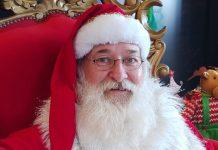Ferrari sofreu princípio de infarto quando trabalhava como Papai Noel em shopping. Foto: Reprodução