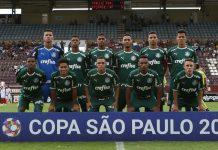 Equipe do Palmeiras. Foto: Fabio Menotti/Agência Palmeiras