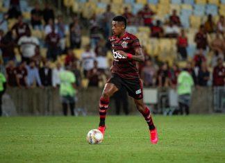 Bruna Henrique, do Flamengo. Foto: Alexandre Vidal/Flamengo