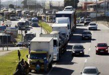 Paralisação dos caminhoneiros. Foto: Thomaz Silva/Agência Brasil