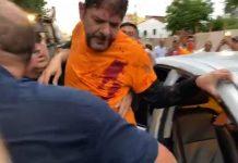 Cid Gomes é baleado em Sobral. Foto: Reprodução