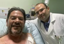 Cid Gomes foi internado após ser baleado em um protesto de PMs. Foto: Reprodução/Globo