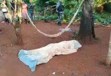 Homem foi morto com facada no peito. Foto: Reprodução