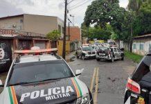 Polícia Militar do Ceará. Foto: O Povo Online/Reprodução