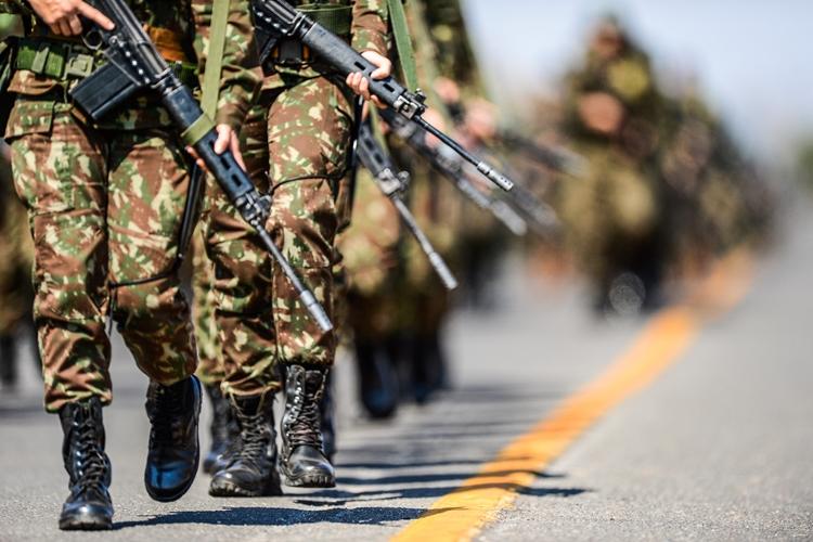 Soldados. Foto: Cb Estevam/CComSEx/Flickr