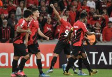 Athletico-PR vence o Peñarol. Foto: Site oficial do Athletico-PR