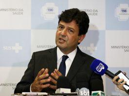 Ministro da Saúde, Luiz Mandetta. Foto: Rodrigo Nunes/MS