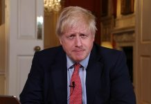 O premiê britânico, Boris Johnson. Foto: Andrew Parsons/No10 Downing Street via Fotos Públicas