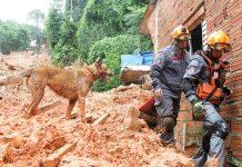De acordo com a Defesa Civil, ainda há 28 desaparecidos