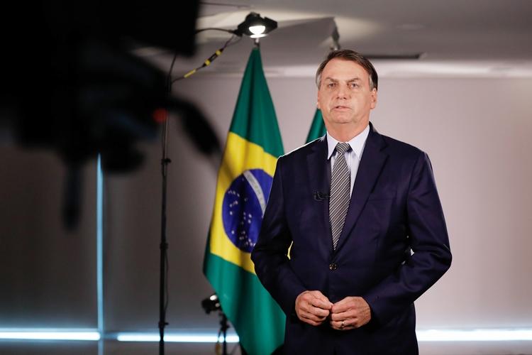 Pronunciamento do Presidente da República, Jair Bolsonaro. Foto: Carolina Antunes/PR