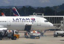 Latam Airlines. Foto: Jorge Araujo/Fotos Públicas