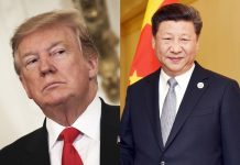 Donald Trump e Xi Jinping. Foto: Reprodução