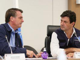 Bolsonaro e Mandetta. Foto: Isac Nóbrega/PR