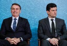 Sérgio Moro e Jair Bolsonaro. Foto: Alan Santos/PR