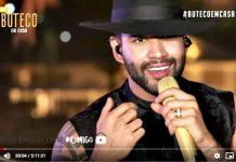 Gusttavo Lima faz live. Foto: Reprodução