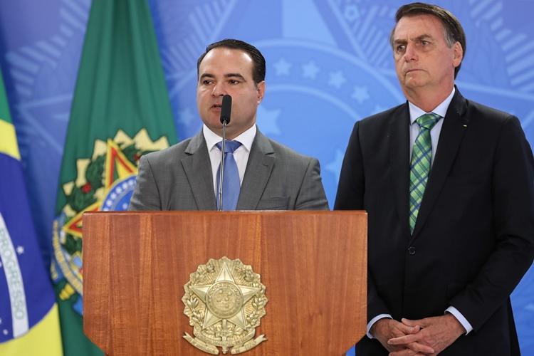 Jorge de Oliveira e Jair Bolsonaro. Foto: Marcos Corrêa/PR