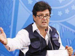 O ministro da Saúde, Luiz Henrique Mandetta. Foto: José Dias/PR