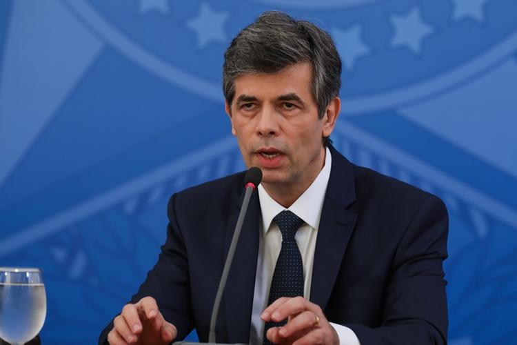 Ministro da Saúde Nelson Teich. Foto: José Dias/PR