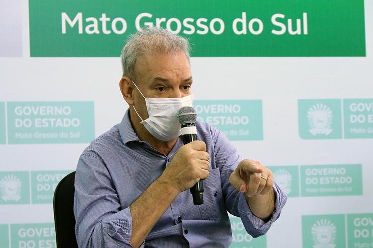 Geraldo Resende, secretário de estado de Saúde de Mato Grosso do Sul. Foto: Divulgação