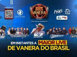 """Live """"Amigos da Vanera"""". Foto: Reprodução"""