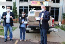 Ação faz parte do Movimento Energia do Bem e vai distribuir 65 mil máscaras no estado. Foto: Divulgação